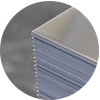Láminas y bandas de aluminio acabado Mill finish