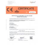 Marcado CE norma 1090 Certificate Conformity Factory Production Control
