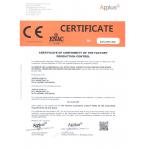 Marcado CE norma 15088 Certificate Conformity Factory Production Control