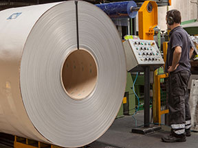 Fabricación de Calorifugado y Bobinas de Aluminio